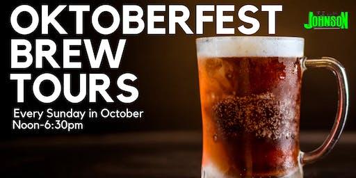 Team Johnson's Oktoberfest Brew Tour