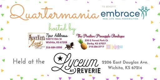 Quartermania to benefit Embrace
