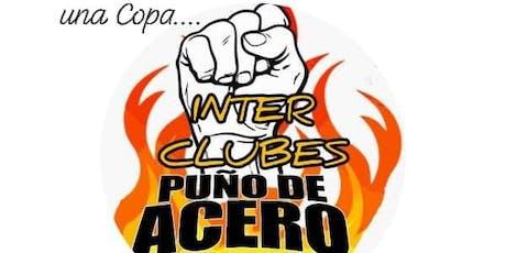 Torneo Interclubes Puño de Acero entradas