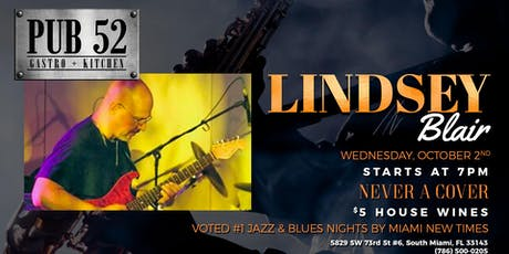 Jazz & Blues Wednesday's ft Lindsey Blair tickets