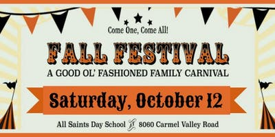 All Saints Fall Festival