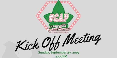 #CAP Kick Off Event tickets