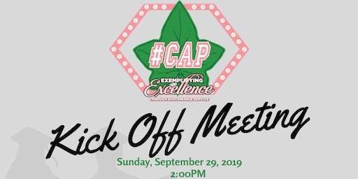 #CAP Kick Off Event