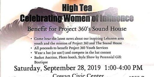 High Tea Celebrating Women of Influence