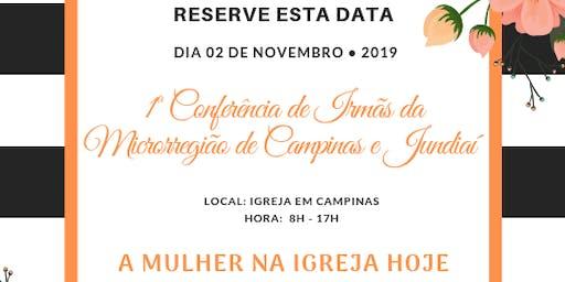 1ª Conferência de irmãs da Microrregião de Campinas e Jundiaí