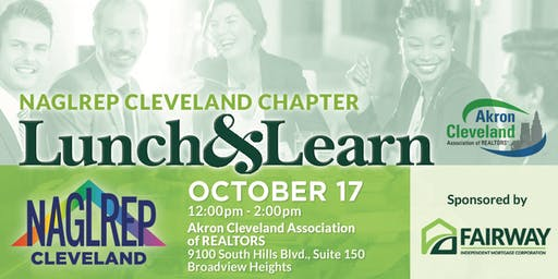 NAGLREP Cleveland Lunch & Learn Oct 17