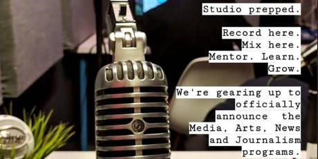 Call for Podcasters: Media, Art & Journalism incubator tickets
