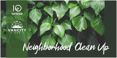 Mount Pleasant Neighbourhood Cleanup with Tentree tickets