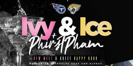 Happy Hour at The Park - Ivy & Ice Edition (AKA's & Alphas)@ {Union Park - Addison} tickets