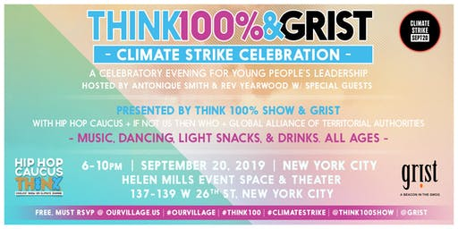 CLIMATE STRIKE CELEBRATION presented by Think 100% & Grist