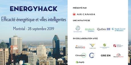 EnergyHack - Efficacité énergétique et villes intelligentes/ Energy Efficiency and Smart Cities billets