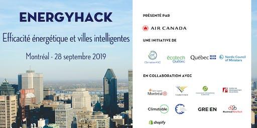 EnergyHack - Efficacité énergétique et villes intelligentes/ Energy Efficiency and Smart Cities