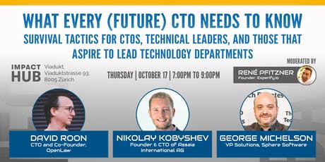What every (future) CTO needs to know tickets