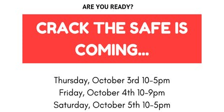 Crack the Safe Event 2019 - 25 prizes to be won! tickets