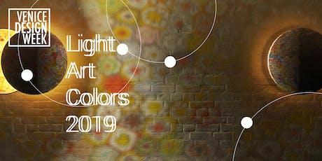 Premiazione Concorso Light Art and Colors biglietti
