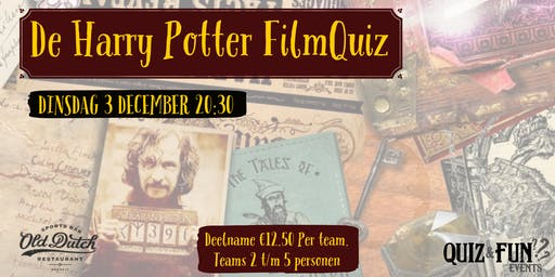 De Harry Potter FilmQuiz | Breda