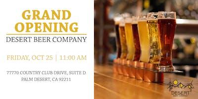 Desert Beer Company Grand Opening