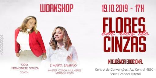 Workshop FLORES EM VEZ DE CINZAS