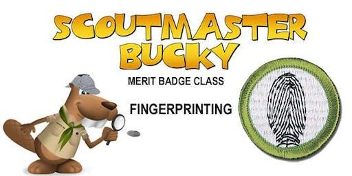 Fingerprinting Merit Badge - 2019-12-21 - Saturday PM - Scouts BSA