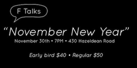 November New Year (Presented by F-Talks) tickets