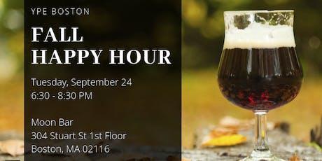 YPE Boston Fall Happy Hour tickets