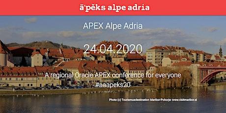 APEX Alpe Adria 2020 tickets