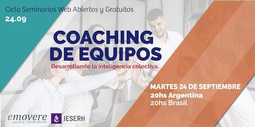 WEBINAR Gratuita: Coaching de Equipos