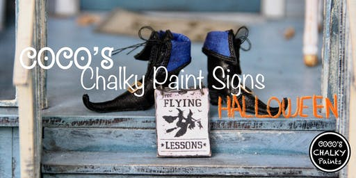 Coco's Creative Chalky Signs (Halloween Edition)
