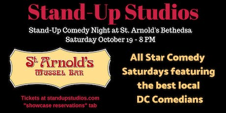 Stand-Up Studios Comedy All Stars  - Saturdays Bethesda , Oct 19 - 8:00 pm tickets
