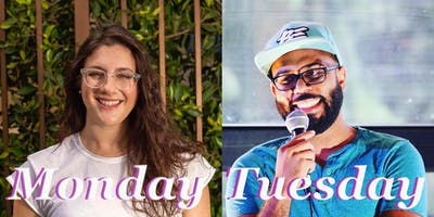Just The Tips Headlining Rachele Friedland & Akeem Woods Comedy Show+Open Mic