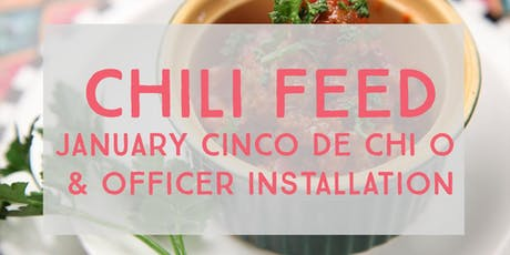 January Cinco de Chili Feed and Officer Installment tickets