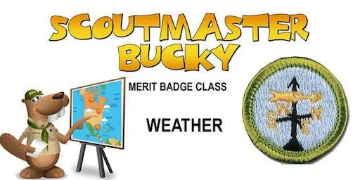 Weather Merit Badge - 2019-12-21 - Saturday PM - Scouts BSA