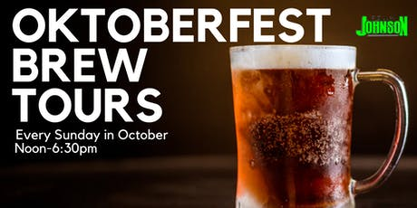 Team Johnson's Oktoberfest Brew Tour tickets