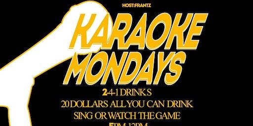 Monday Night Karaokes