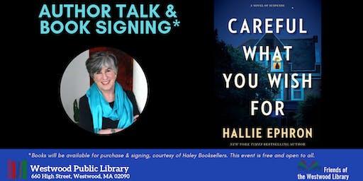 Author Talk & Book Signing: Hallie Ephron