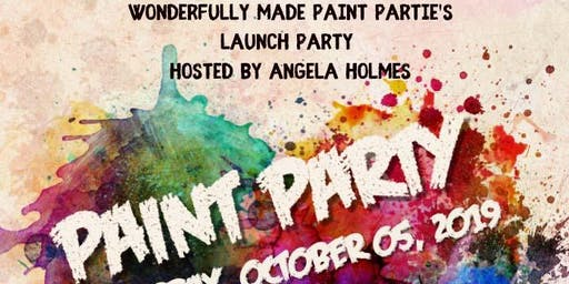 Wonderfully Made Paint Partie's Launch Party Paint Party