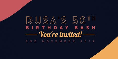 DUSA's 50th Anniversary tickets