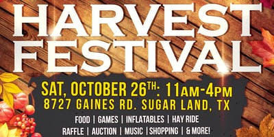 Harvest Fest 2019 - Vendor Booths Available