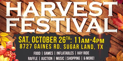 Harvest Fest 2019 - Day of Family Fun