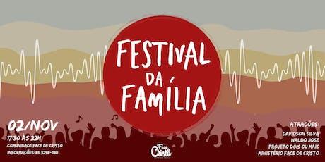 Festival da Família ingressos