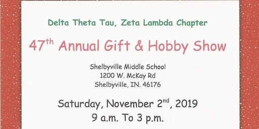 Delta Theta Tau 47th Annual Gift & Hobby Show