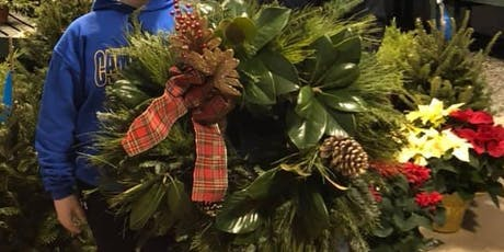 Holiday Cheer & Wreath Making with fresh greens! 12/8 tickets