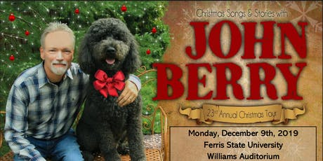 Christmas Songs and Stories with John Berry tickets