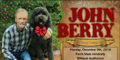 Christmas Songs and Stories with John Berry