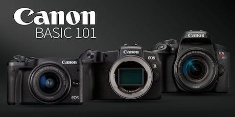 Canon Basic 101 tickets