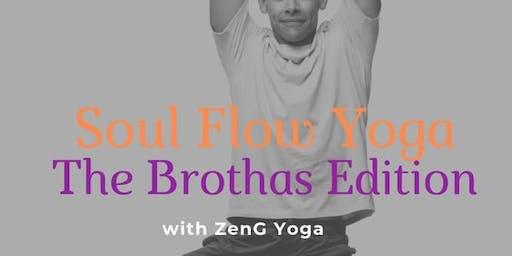Soul Flow Yoga for the Brothas (Every Thursday)