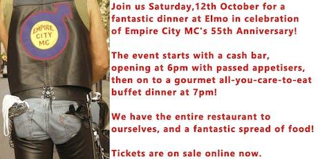 Empire City MC's 55th Anniversary Dinner tickets