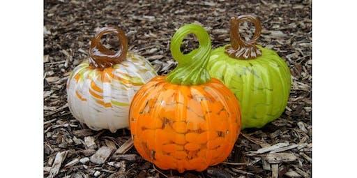 Pumpkin Glassblowing (Beginner)   (2019-09-22 starts at 12:30 PM)