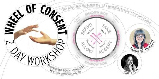 The Wheel of Consent - Two Day Workshop in Brooklyn NY with Corinne Diachuk