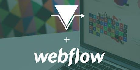 """Workshop >Contournement> #5 : """"Créer des super sites web avec Webflow"""" billets"""